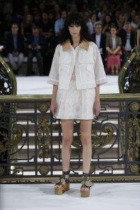 john,galliano,fashion-week,paris,white,dress