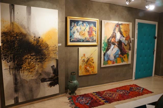 The fine Arts Studio in Marrakech bietet seinen Kunden einen ganz besonderen Service